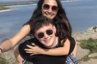 Volver a conocer a su novio, redescubrirlo, fue parte del proceso de recuperación de Georgia
