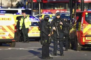 Hay fuerte presencia policial en la zona del incidente
