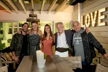 Grego Rossello, Denise Dumas, Floppy Tesouro, Boy Olmi y Coco Sily, los protagonistas de la séptima semana de Divina Comida