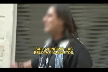 El hincha de Huracán detenido por pintar el escudo dijo: