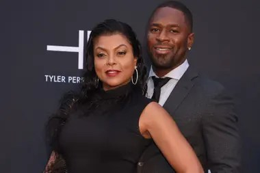 Taraji P. Henson and her fiance, former NFL player Kelvin Hayden, they had a wedding date march 31,