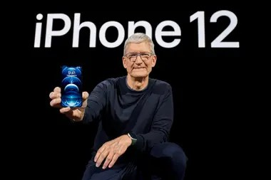 Cook just introduced the iPhone 12