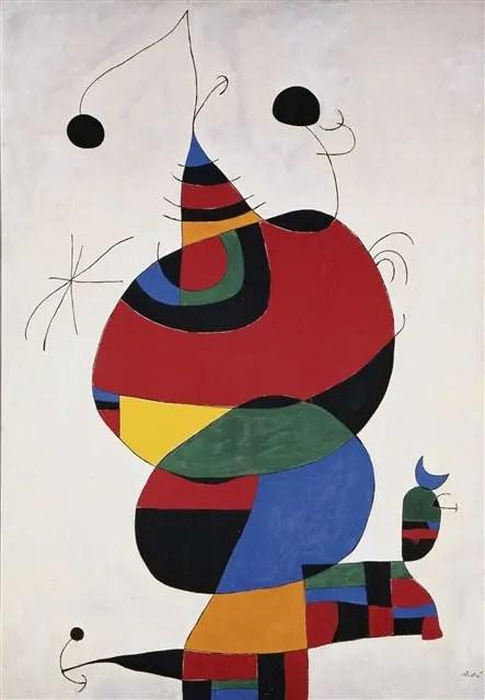 Mujer, pájaro, estrella (homenaje a Picasso), 1966/73