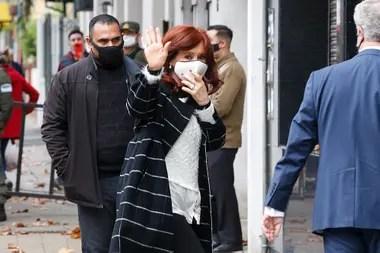 Cristina Kirchner, en Lomas de Zamora