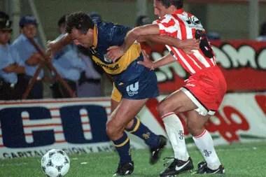 Boca repatrió a Márcico desde Francia en 1992; es el club del cual Beto siempre fue fervoroso hincha.