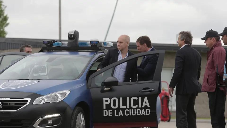 Resultado de imagen para RODRIGUEZ LARRETA POLICIA