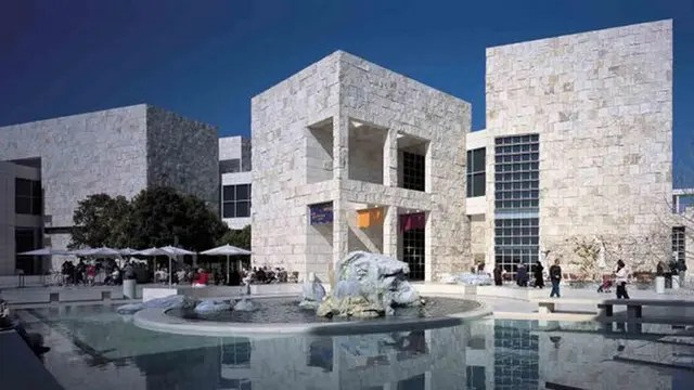 El Museo J. Paul Getty en Los Ángeles