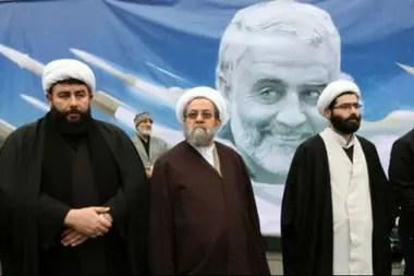 Muchos clérigos chiitas participaron en Irán e Irak en las manifestaciones por la muerte del general Soleimani
