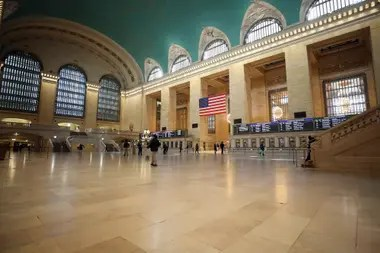 Grand Central Station, sin gente