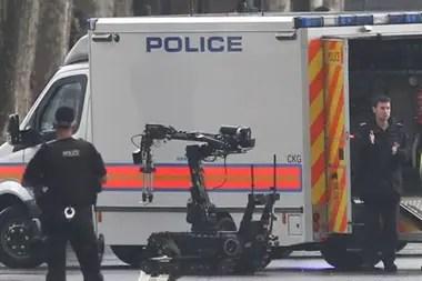 Los robots se han convertido en un elemento esencial del trabajo policial