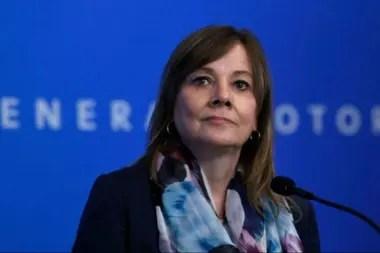Mary Barra, Directora Ejecutiva de General Motors.