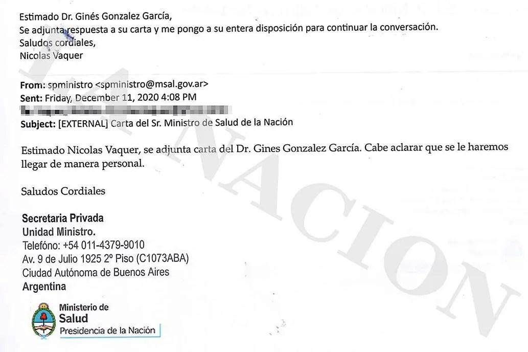 Tensión por las vacunas contra el covid: los correos electrónicos que revelan la pelea del Gobierno con Pfizer