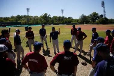 El seleccionado argentino de béisbol, los Gauchos