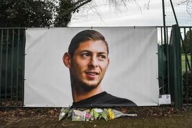 La imagen de Sala en el centro de entrenamiento de Nantes