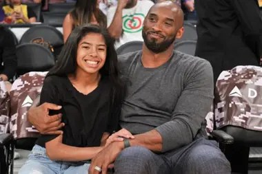 Una de las hijas de Kobe Bryant, Gianna, de 13 años, también murió en el accidente