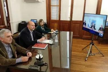 El santafecino Perotti, en comunicación con el Presidente