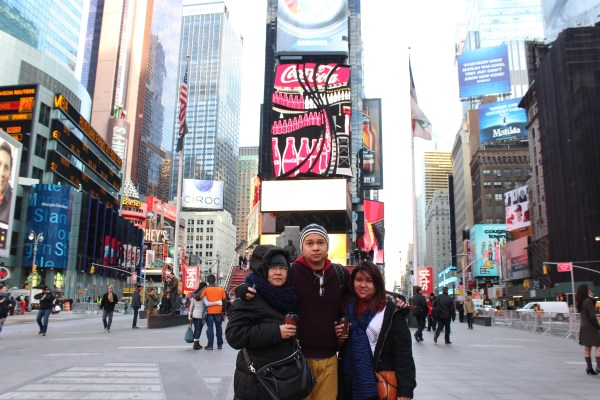# 153 Stand In Middle Of Times Square Bucket List 250