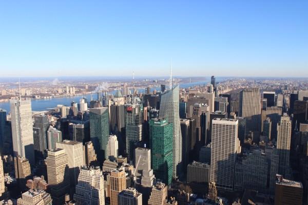 Empire State Building New York City Skyline