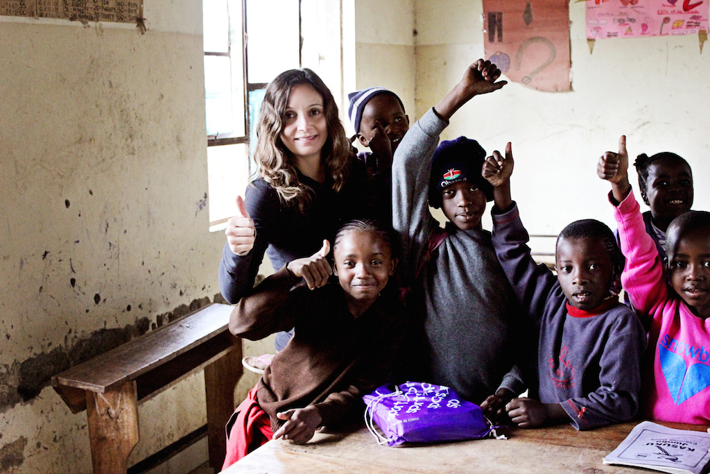 Volunteer: Simple and Cheap (or Completely Free!) Bucket List Ideas: Annette White at Essa School in Tanzania Africa