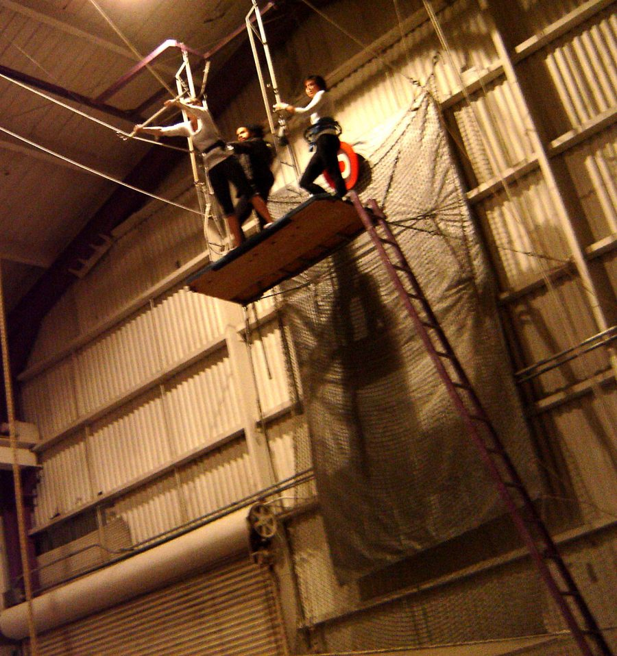 A Day at Trapeze School: An Circus-Style Aerial Class
