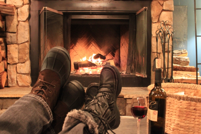Couples Bucket List: Cuddle by the Fire