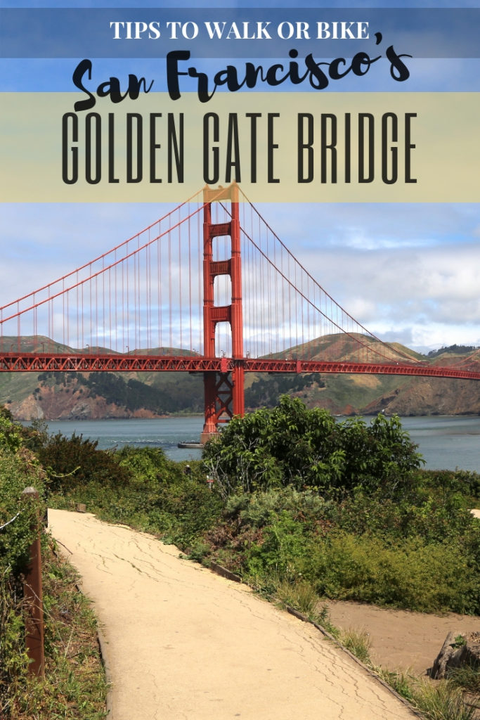 Tips to Bike or Walk Across San Francisco's Golden Gate Bridge