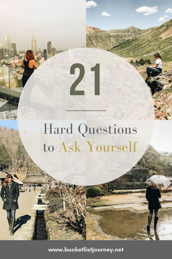 Hard Questions to Ask Yourself, and Even Harder Questions to Answer