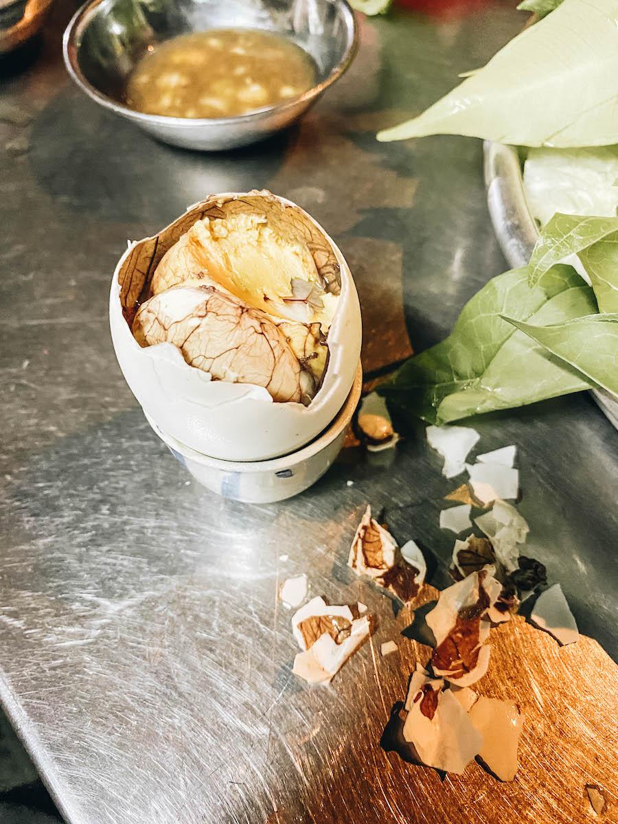 Balut Fertilized Egg