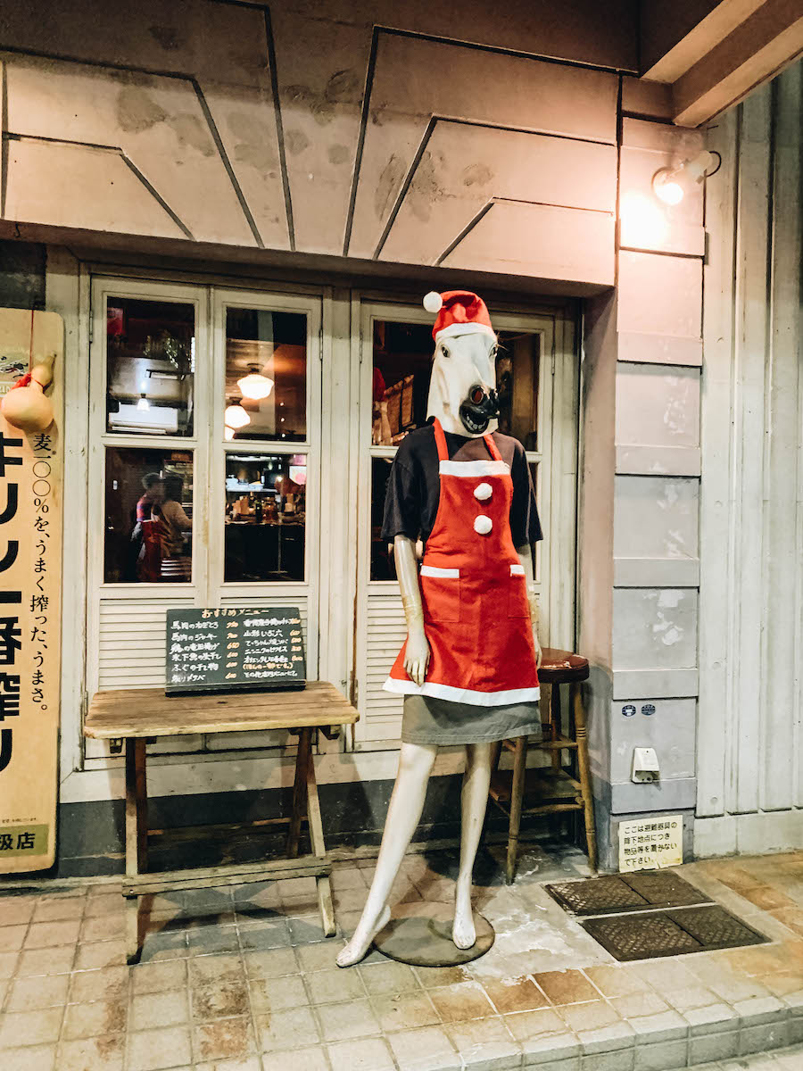 Japanese Culture & Tradition: Basashi Raw Horse Meat restaurant in Japan