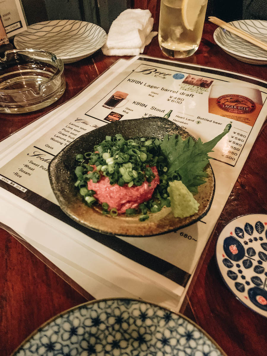 Japanese Culture & Tradition: Basashi Raw Horse Meat (Japan)