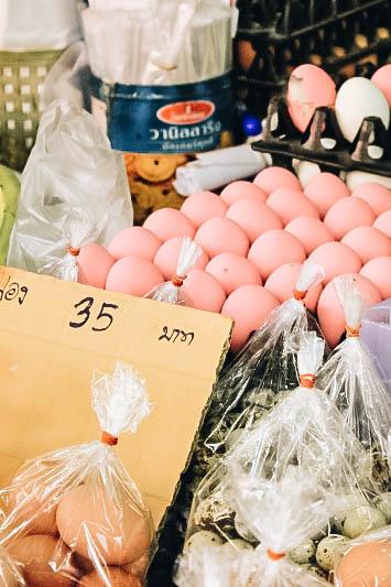 Weird Food: Century Egg in Thailand
