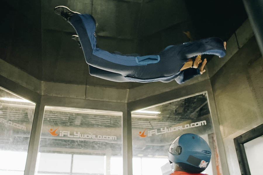Indoor Skydive Experience: Weightlessness in a Wind Tunnel