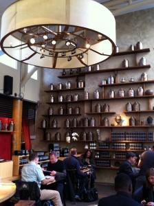 Drinking Tea at a San Francisco Tea House