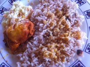 Belize Meal