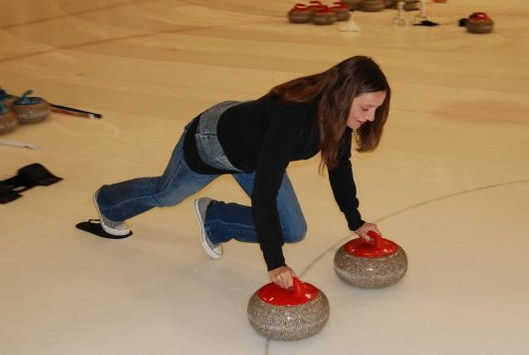 Curling (Annette White)