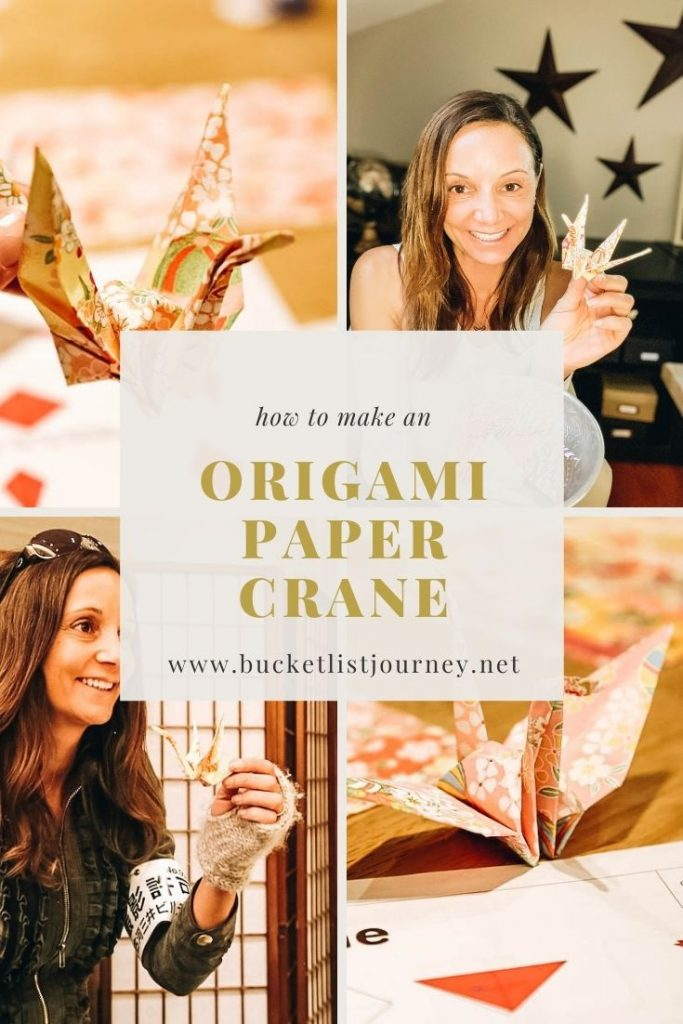 How to Make an Origami Paper Crane: Folding Instructions for the Beginner