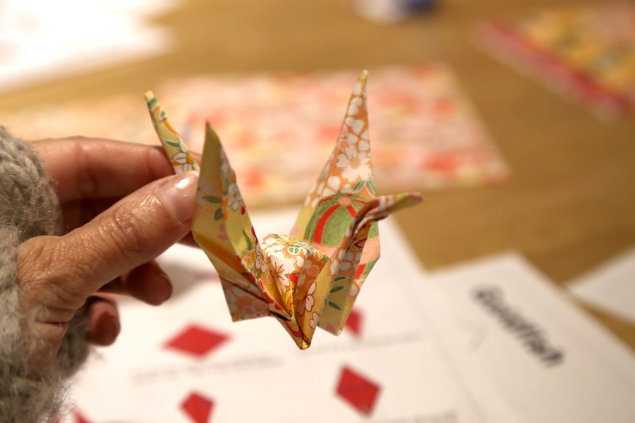 Origami Crane from Tokyo, Japan