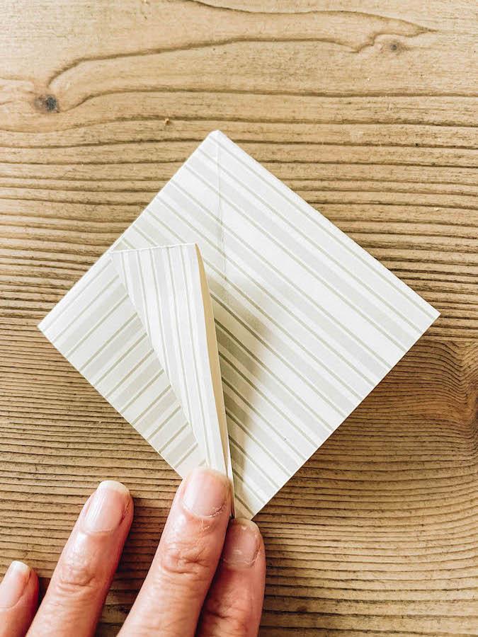 Paper Crane Folding