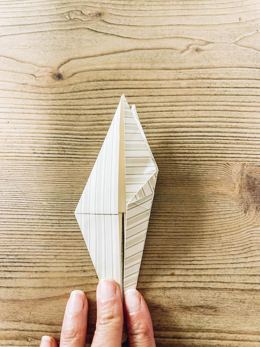folding origami flaps
