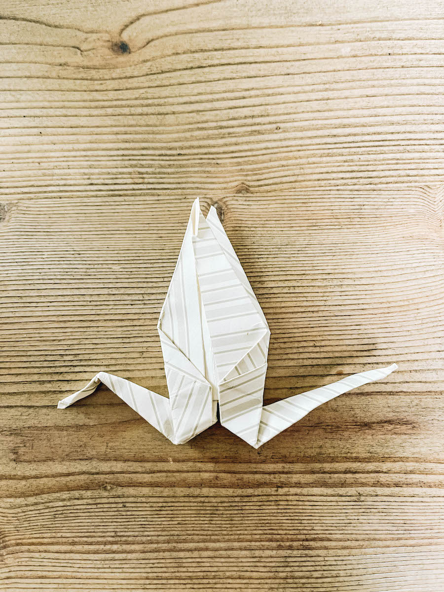 Paper folding art