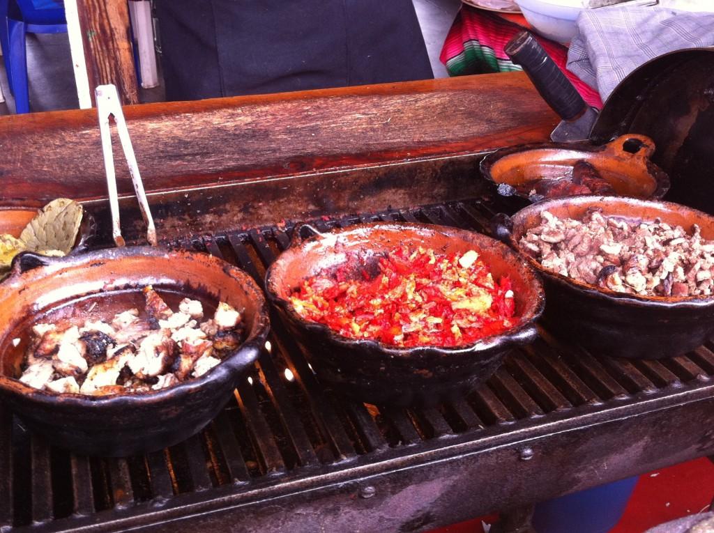 street taco condiments