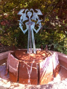 Statue at Sedona Chapel of the Holy Cross
