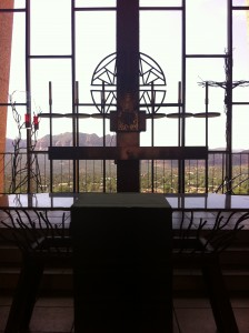 Sedona Chapel of the Holy Cross View