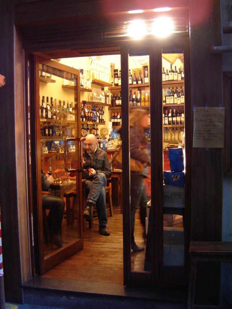 Note di Vino bar in Italy
