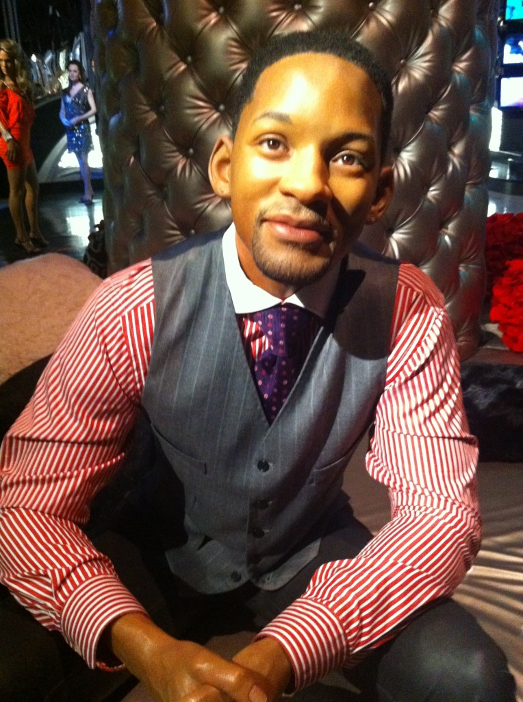 will smith at Madame Tussauds