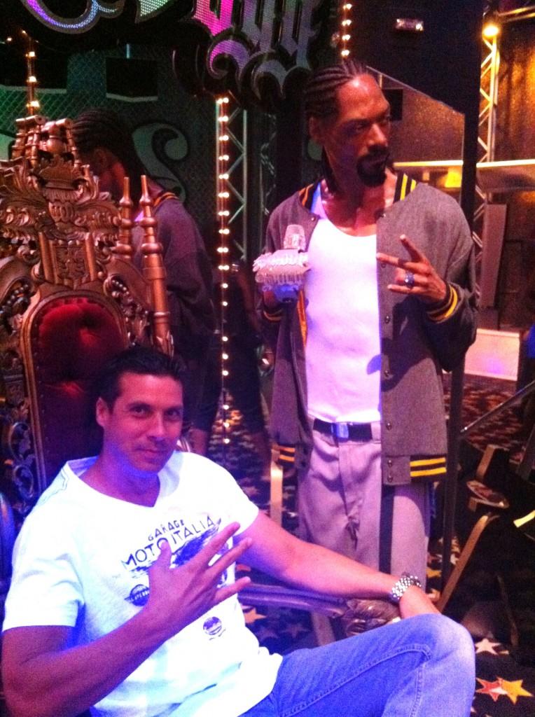 Snoop Dogg at Madame Tussauds