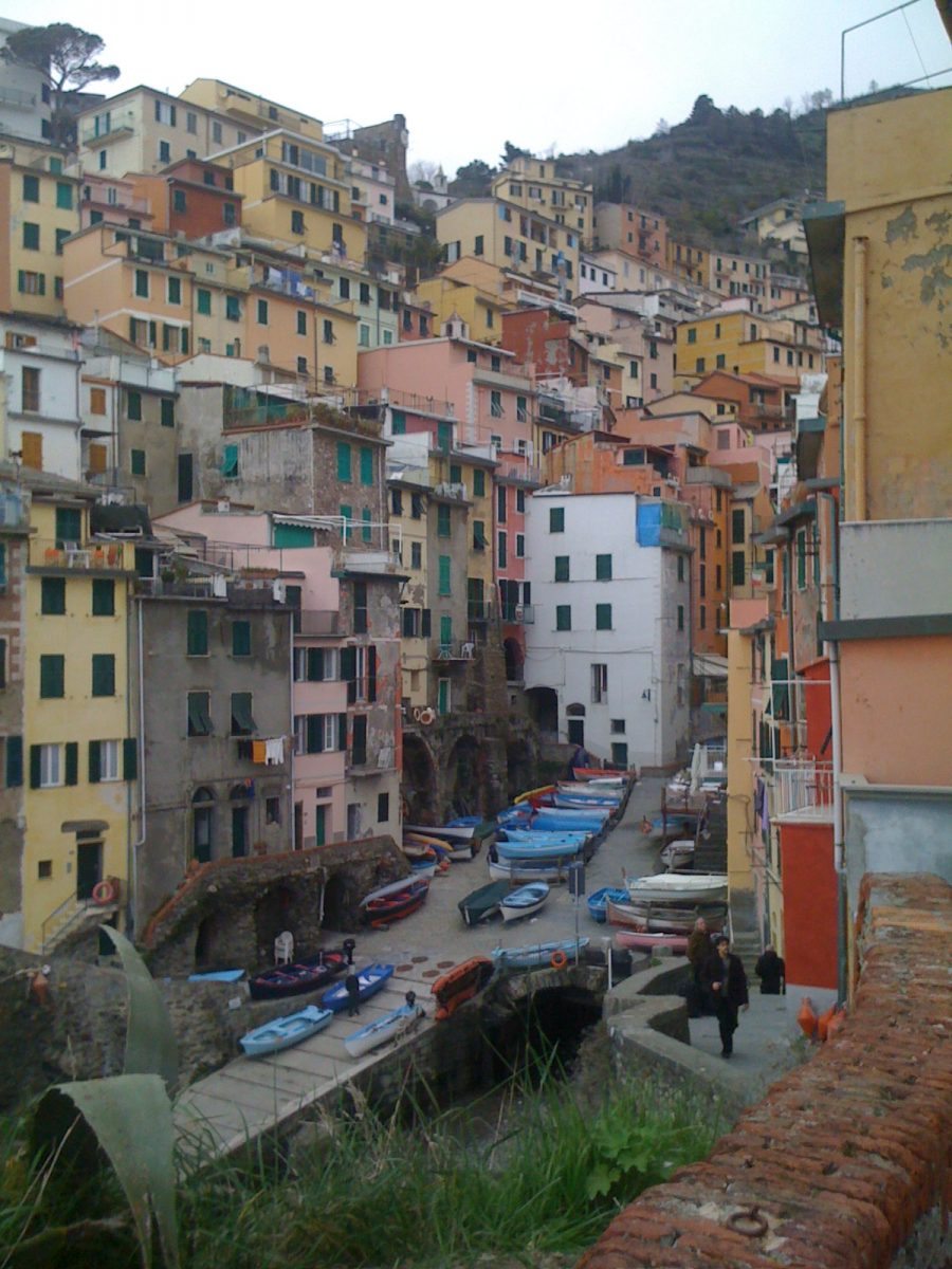 Vernazza in Northern Italy