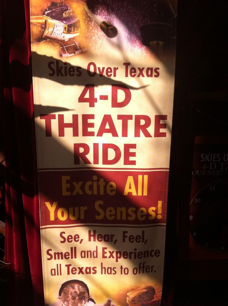 4-D theater in San Antonio