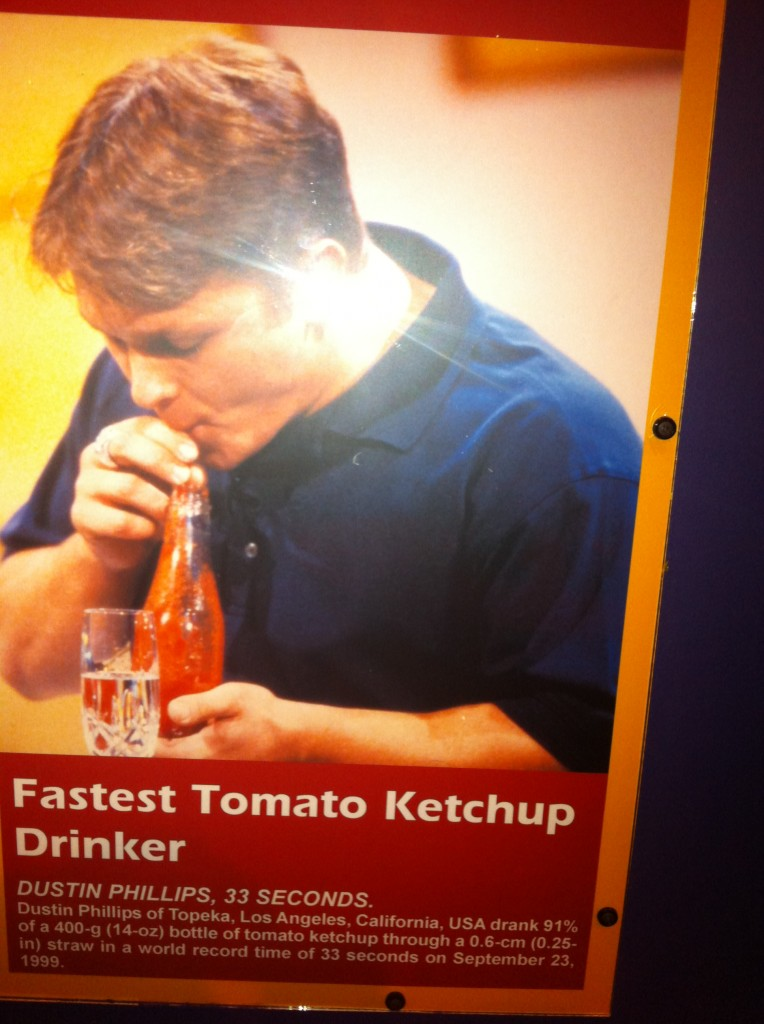 Tomato Ketchup Drinker