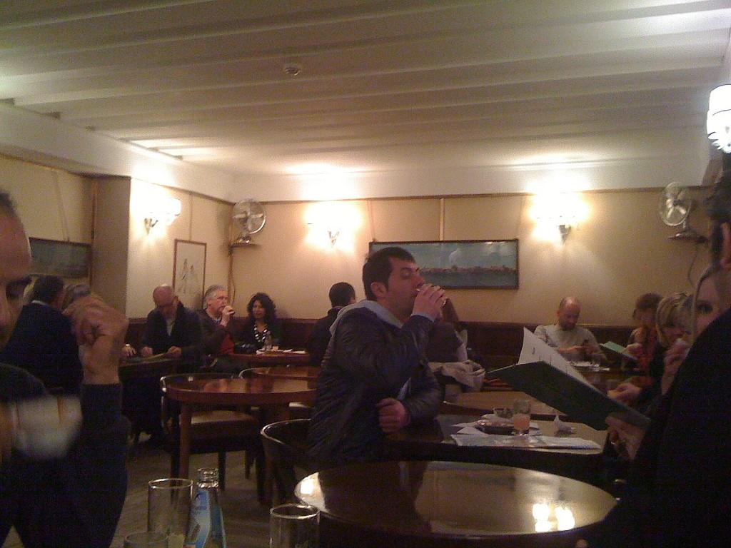 Interior at Harrys Bar in Venice